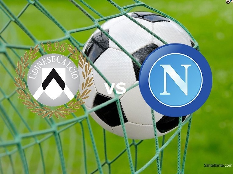 Udinese Napoli streaming partita Serie A
