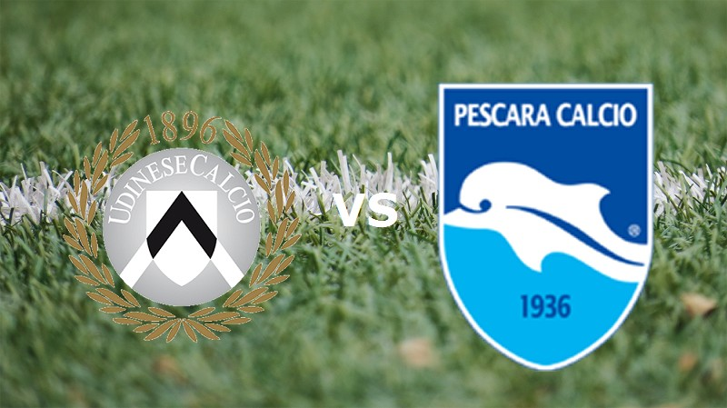 Udinese Pescara streaming gratis live li
