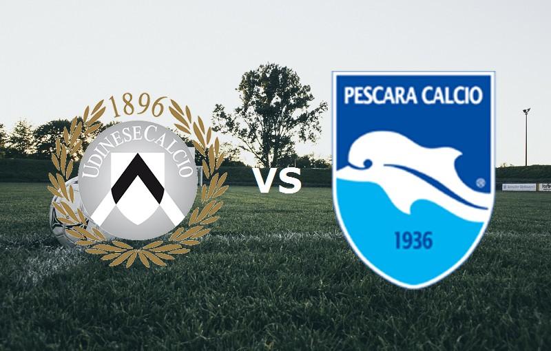 Udinese Pescara streaming gratis live si