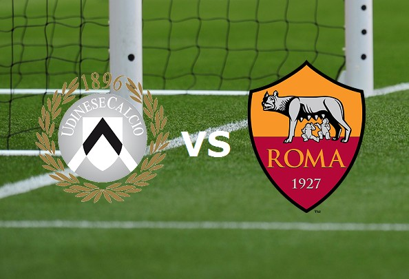 Udinese Roma streaming gratis live. Dove