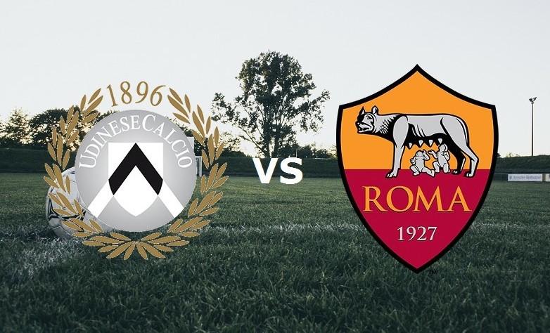 Udinese Roma streaming ora gratis live.