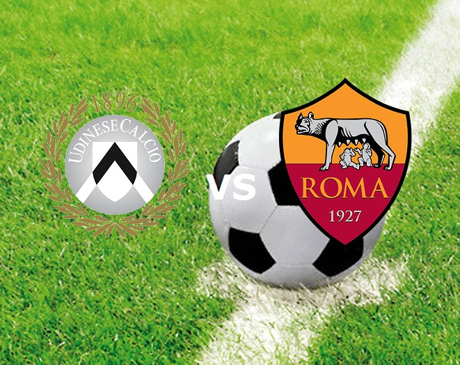 Udinese Roma streaming live gratis diret