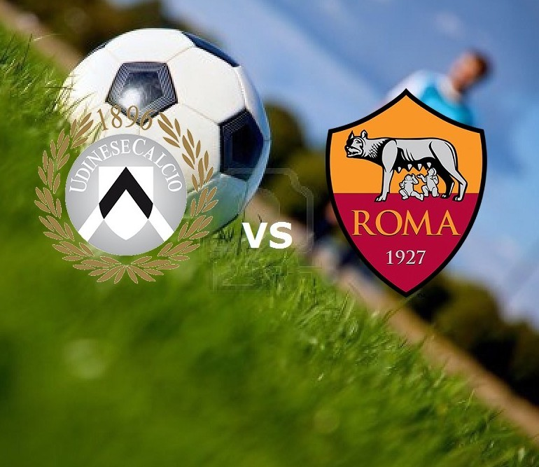 Udinese Roma streaming gratis live su si