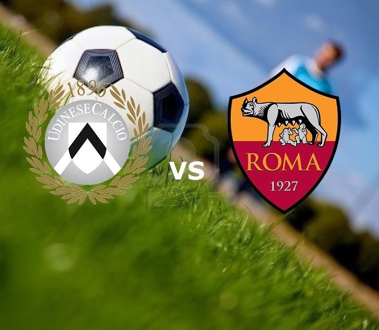 Udinese Roma streaming gratis live per v