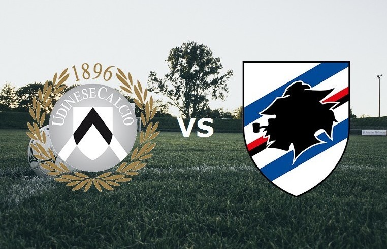 Udinese Sampdoria streaming live gratis.