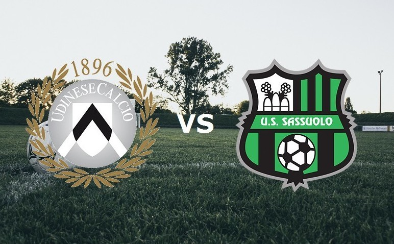 Udinese Sassuolo streaming live gratis p