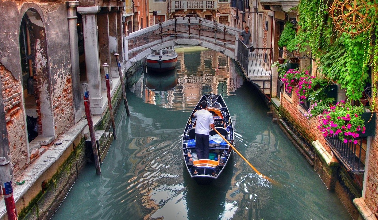 Venezia, per andare nel bagno del ristor