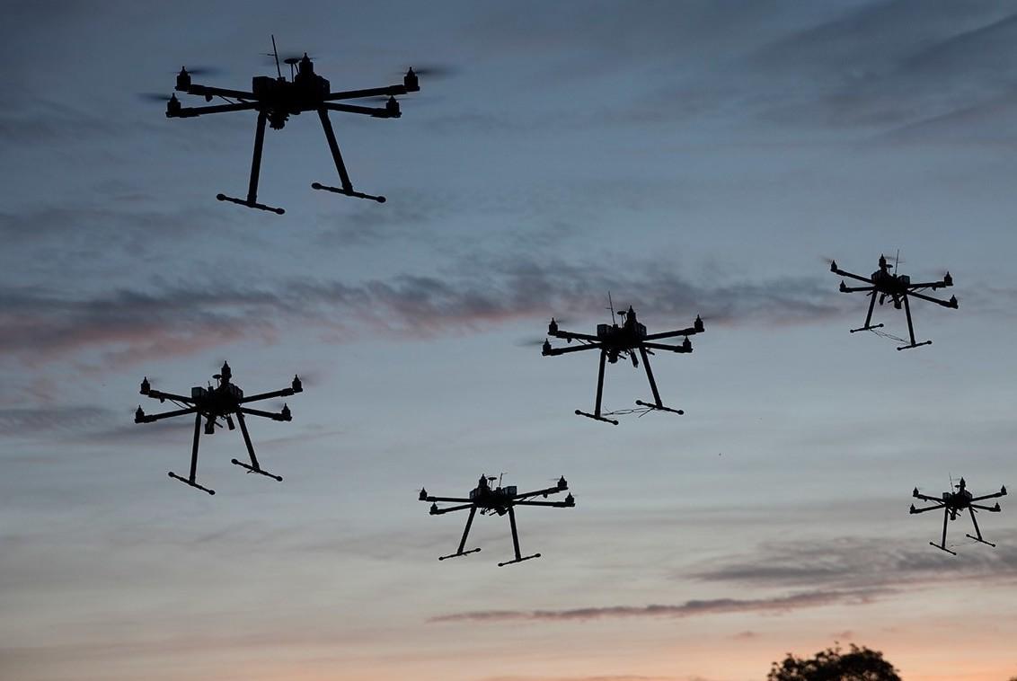 Verso prima torre di controllo droni. Il