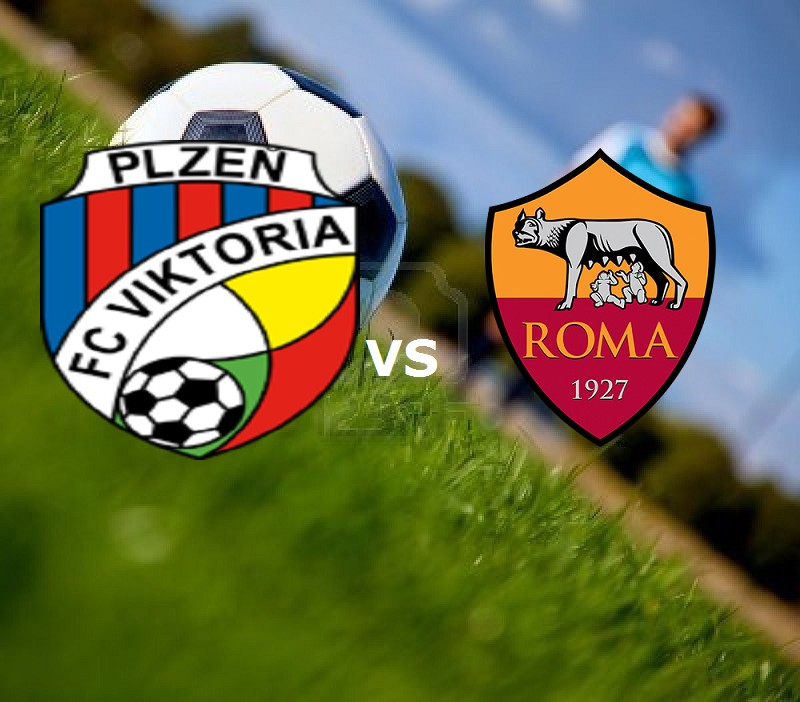 Viktoria Plzen Roma streaming. Dove vede
