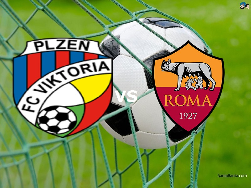 Viktoria Plzen Roma streaming gratis liv