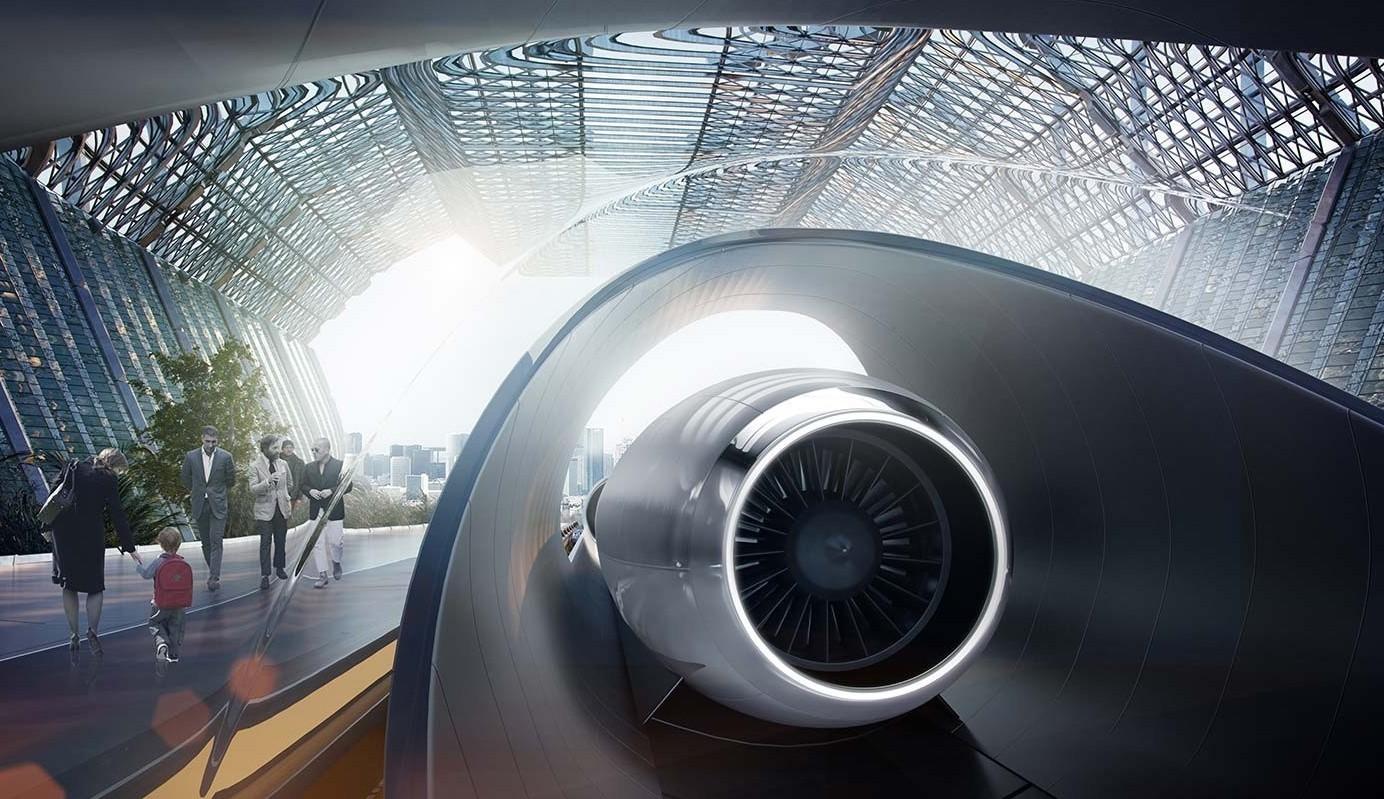 Virgin si lancia sull'Hyperloop con