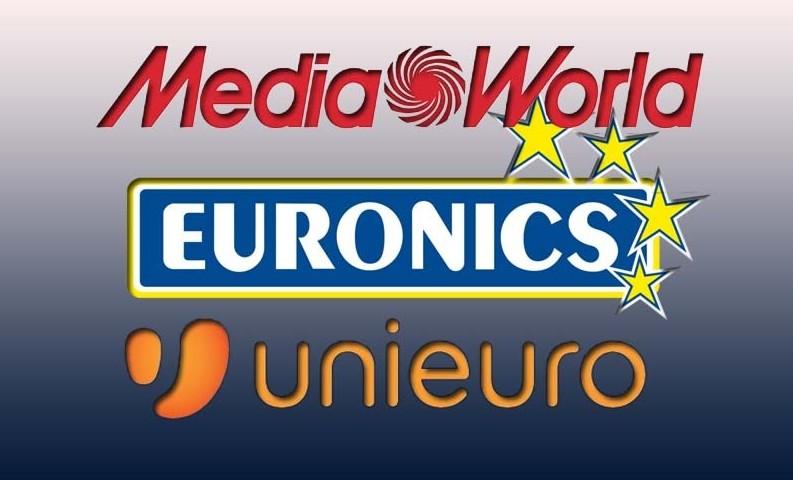 Volantino Unieuro, Mediaworld, Trony, Ex