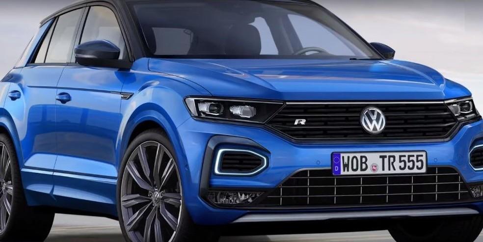 volkswagen t roc r 2019 modelli prezzi motore consumi. Black Bedroom Furniture Sets. Home Design Ideas