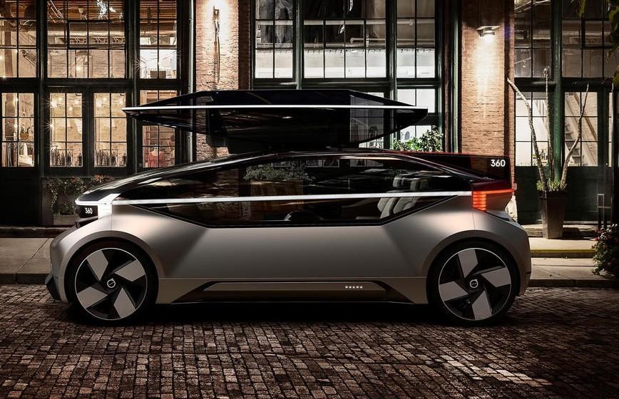 Volvo 360c, nuova auto 2019-2020 davvero