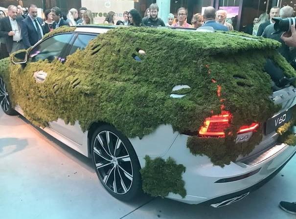 Volvo V60 2019, nuova auto green. Ecco c