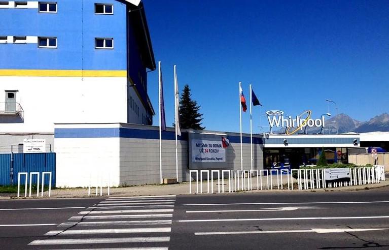 Whirlpool assume qui in Slovacchia e sti