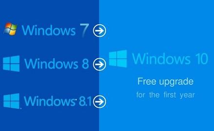 Windows 10 aggiornamento gratis: confron