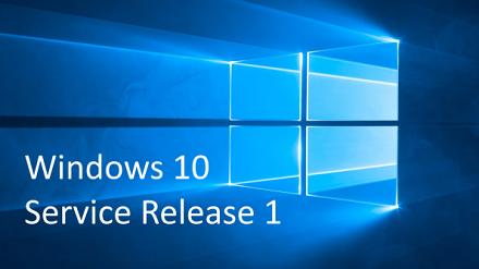 Windows 10 aggiornamento Service Release