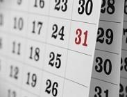 Calendario 2015: eventi da ricordare e festivit�, ponti, ferie, vacanze del nuovo anno lavoro e scuola