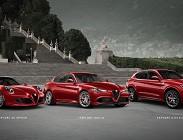 Quatto nuove auto Alfa Romeo