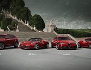 Tutte le nuove auto Alfa Romeo