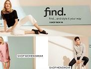 amazon, ecommerce, vendita vestiti online, find