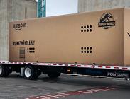 Amazon, pacco di dimensioni mega