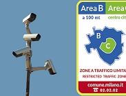 Area B Milano: dove sono le telecamere a
