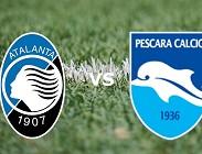 Atalanta Pescara in streaming