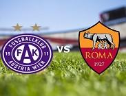 Austria Vienna Roma streaming per vedere su siti web, televisioni, link
