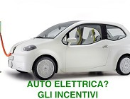 auto elettrica, italia, incentivi