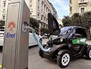auto elettrica, enel , x colonnine