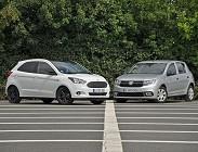 Fiat Panda e Citroen C3