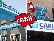 Banca Etruria, Banca Marche, CariFerrara CariChieti