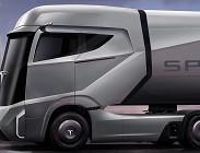 batteria elettrica, tesla, camion elettrico, elon musk
