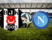 Besiktas-Napoli streaming della partite dove vedere in diretta