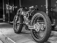 Bicicletta Batman successo Reggio Emilia