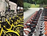 Bike sharing Torino, Milano, Firenze, Perugia