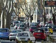 Blocco auto Torino numerosi città Nord