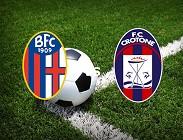 Bologna Crotone streaming live gratis link, siti web migliori. Dove vedere