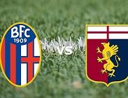 Bologna Genoa streaming gratis live migliori siti web, link. Dove vedere