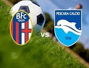 Bologna Pescara in streaming