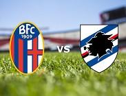 Bologna Sampdoria streaming gratis live link, migliori siti web. Dove vedere