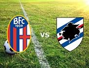 Bologna Sampdoria streaming live gratis diretta link, siti web migliori. Dove vedere (AGGIORNAMENTO)
