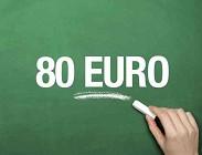 Bonus 80 euro Irpef