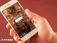 La campagna Stories Ordering
