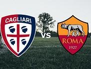 Cagliari Roma streaming e vedere in chiaro. Dove gratis live