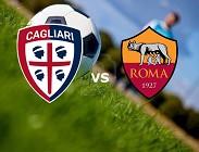 Cagliari Roma partita Serie A streaming
