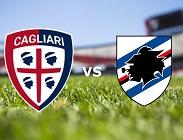 Cagliari Sampdoria streaming live gratis. Dove vedere siti web, link