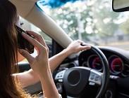 cellulare auto guida sanzioni